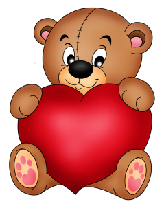 Brown_Teddy_with_Red_Heart_PNG_Clipart