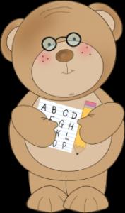school-bear